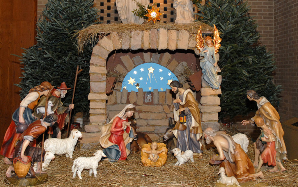 Decorating The Church For Christmas St Mary Magdalene